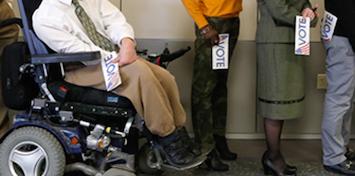 Wheelchair Voter